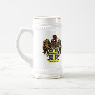 MacFaasen Family Crest Caneca De Cerveja