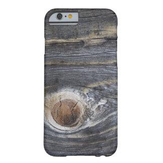Madeira envelhecida capa barely there para iPhone 6