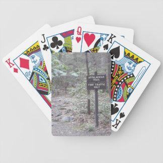 madeiras apalaches da fuga baralho para poker