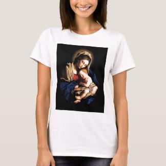 Madonna e camisa do costume da criança