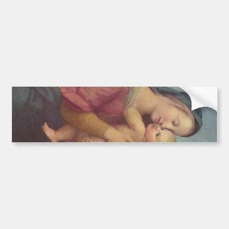 Madonna e criança (os ritmos Madonna) por Raphael Adesivo Para Carro