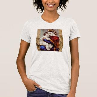 Madonna e t-shirt da criança