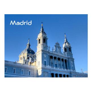 Madrid, cartão da espanha