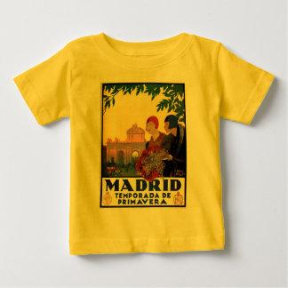 Madrid Temporada de Primavera - poster da arte do T-shirt
