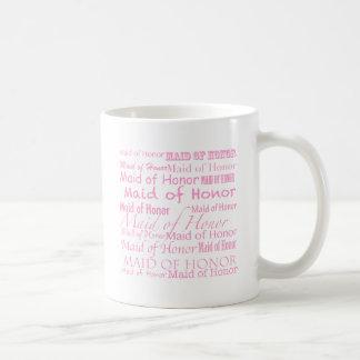 Madrinha de casamento caneca de café