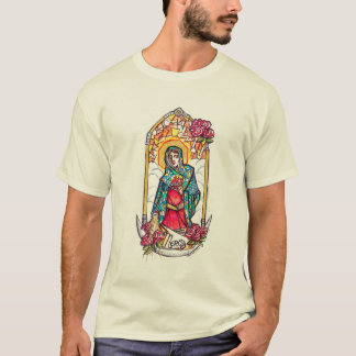 Mãe clemente da Virgem Maria Camisetas