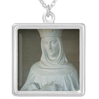 Mãe de Mary de Jesus Colar Com Pendente Quadrado