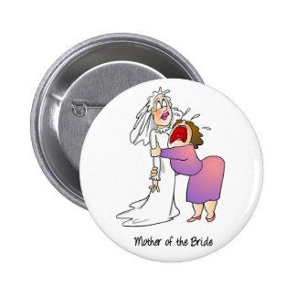 Mãe do botão da noiva botons
