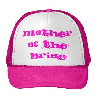 Mãe do chapéu do camionista da noiva boné