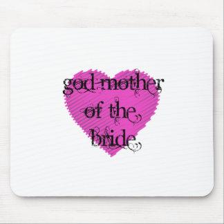 Mãe do deus da noiva mouse pads