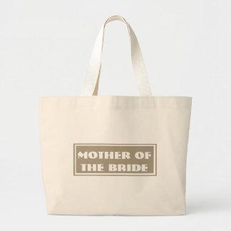 Mãe do marfim da noiva que Wedding a sacola enorme Bolsa Para Compras