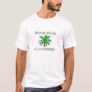 Mãe do noivo - Bahamas Camisetas