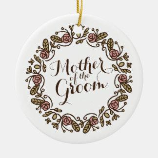 Mãe do ornamento elegante do casamento | do noivo