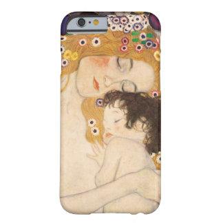 Mãe e criança de Gustavo Klimt Capa Barely There Para iPhone 6