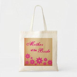Mãe floral da sacola do casamento da noiva bolsa