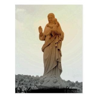 Mãe Mary Cartão Postal