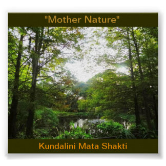 Mãe Natureza/Kundalini Pôster