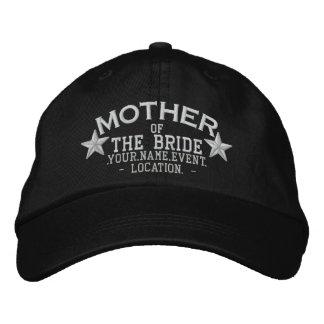 Mãe personalizada das estrelas do bordado da noiva boné bordado