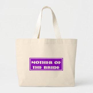 Mãe roxa da noiva que Wedding a sacola enorme Bolsas De Lona