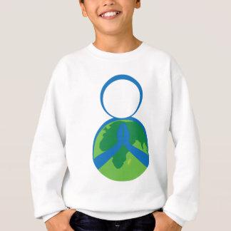 Mãe Terra Praying Camiseta