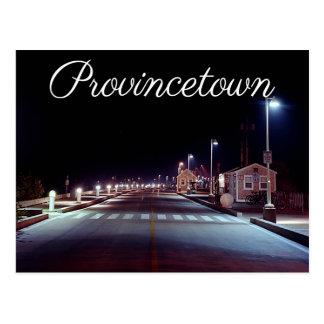 MÃES de Provincetown do cais de Cape Cod MacMillan Cartão Postal