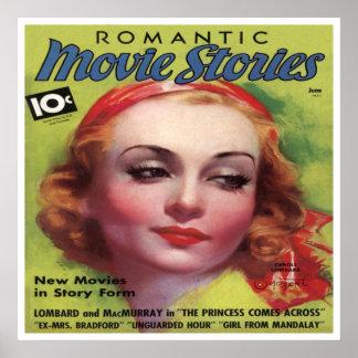 Mag das histórias do filme de Carole Lombard do vi Poster