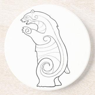Magick - urso porta copos de arenito
