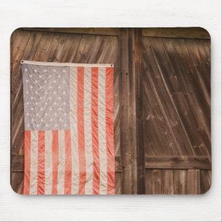 Maine, bandeira americana desvanecida na porta do  mouse pads