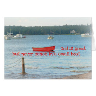 Maine litoral inspirou notecards cartão
