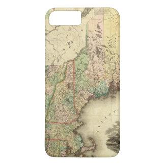 Maine, New Hampshire, Vermont, Massachusetts Capa iPhone 7 Plus