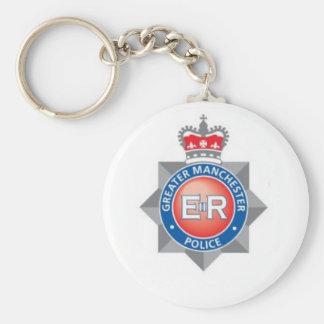 Maior lembrança da polícia de Manchester Chaveiro