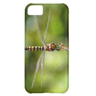 Maior libélula carmesim do planador capa para iPhone 5C
