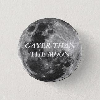 Mais alegre do que o botão da lua bóton redondo 2.54cm