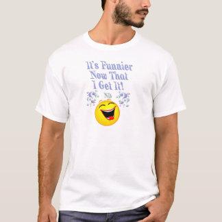 Mais engraçado camiseta