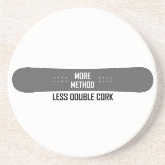 Mais método menos cortiça dobro porta-copos