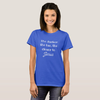 Mais perto do tshirt de Jesus