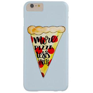 Mais pizza menos esforço Phonecase Capas iPhone 6 Plus Barely There