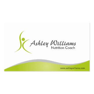 Malhação e nutricionista - cartões de visitas