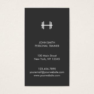 Malhação moderna/cartão de visita pessoal do cartão de visitas