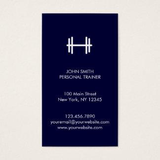 Malhação moderna do marinho/cartão de visita cartão de visitas