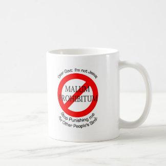 Malum Prohibitum Caneca De Café