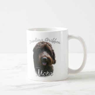 Mamã 2 apontar Griffon Wirehaired Caneca De Café