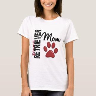 Mamã 2 do golden retriever camiseta