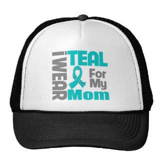 Mamã - apoio do câncer de ovário da fita da cercet bonés