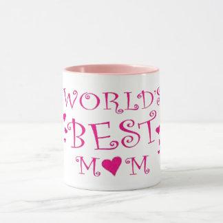 mamã da parte superior da caneca de café do dia