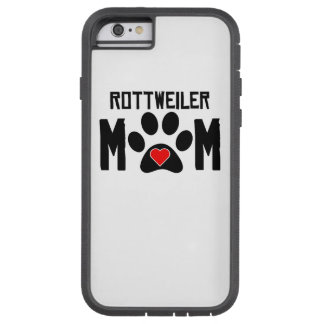 Mamã de Rottweiler Capa Tough Xtreme Para iPhone 6
