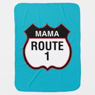 """""""Mama Distribuição 1"""" carrinho de Cobertor De Bebe"""