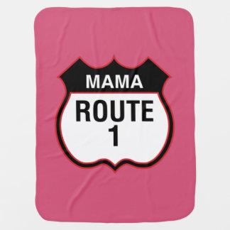 """""""Mama Distribuição 1"""" carrinho de Manta De Bebe"""