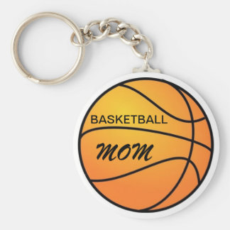 Mamã do basquetebol chaveiro