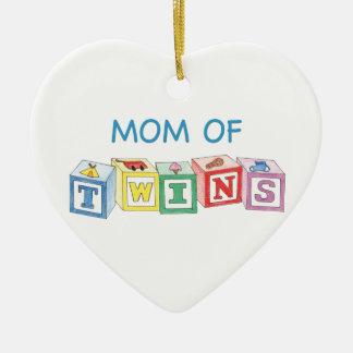 Mamã do ornamento dos gêmeos